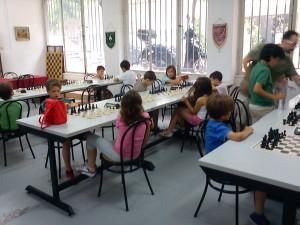 Από το τουρνουά σκακιού των παιδιών που συμμετείχαν στα εργαστήρια των βιβλιοθηκών